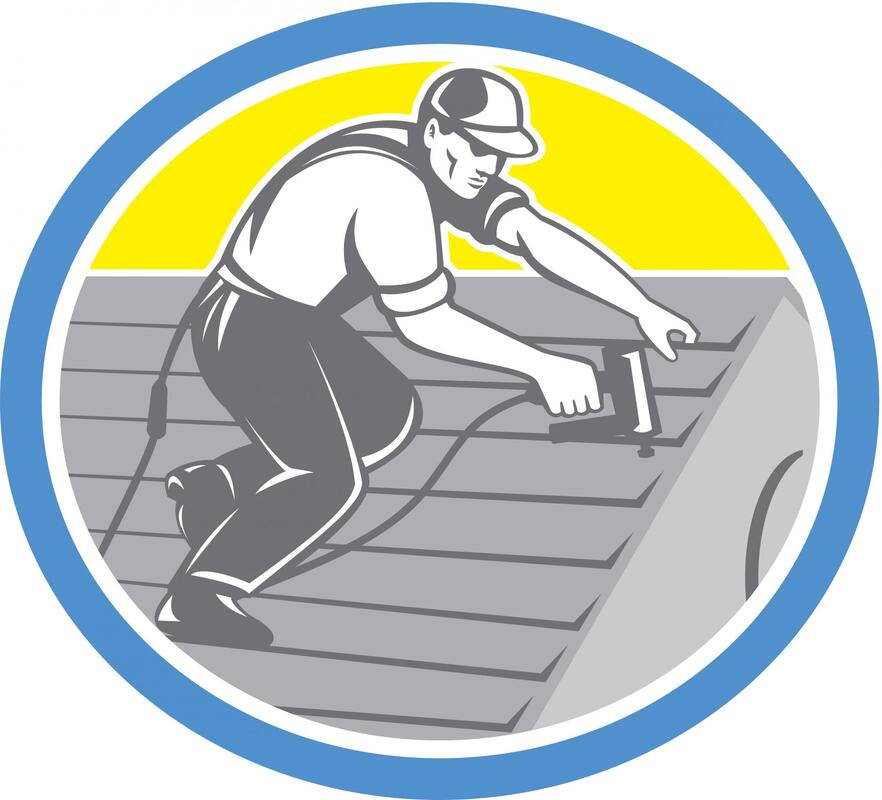 roofer installation repair services logo